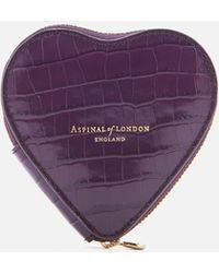 Aspinal - Heart Coin Purse - Lyst
