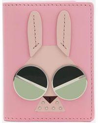Kate Spade - Spademals Money Bunny Card Case - Lyst