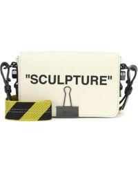 Off-White c/o Virgil Abloh - Binder Clip Canvas Shoulder Bag - Lyst