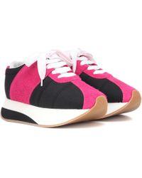 Marni - Bigfoot Suede Sneakers - Lyst