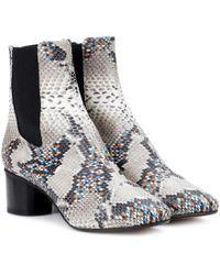 Isabel Marant | Danelya Leather Ankle Boots | Lyst