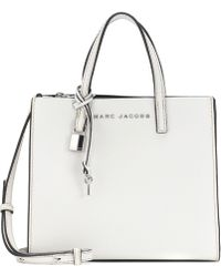 Marc Jacobs - The Mini Grind Leather Tote - Lyst