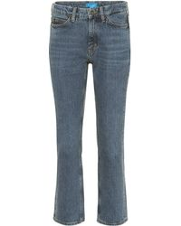 M.i.h Jeans - Jeans rectos Daily Crop tiro alto - Lyst