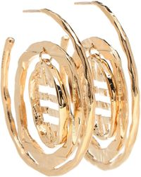 Givenchy - 4g Large Hoop Earrings - Lyst