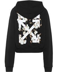 461de5217792 Off-White c o Virgil Abloh Heart Not Troub Hoodie in White - Save 44 ...