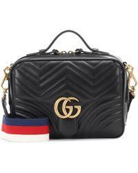 Gucci - GG Marmont Matelassé Leather Bag - Lyst