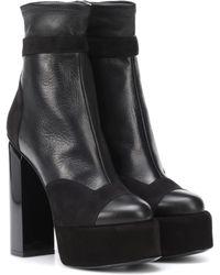 Pierre Hardy - Scarlett Leather Ankle Boots - Lyst