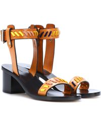 Isabel Marant - Jecky Leather Sandals - Lyst