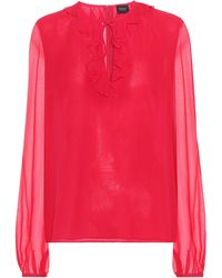 Giambattista Valli - Silk Top - Lyst