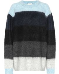Acne Studios - Albah Mohair-blend Sweater - Lyst