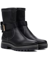 See By Chloé - Dakota Leather Ankle Boots - Lyst
