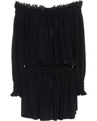 Norma Kamali - Off-the-shoulder Dress - Lyst
