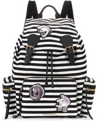 Burberry - The Medium Rucksack Striped Backpack - Lyst