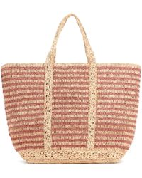 Vanessa Bruno - Cabas Large Straw Shopper - Lyst