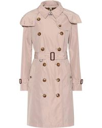 Burberry - Coat Women - Lyst
