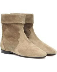 Isabel Marant - Ringal Suede Ankle Boots - Lyst