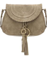 See By Chloé - Polly Suede Shoulder Bag - Lyst