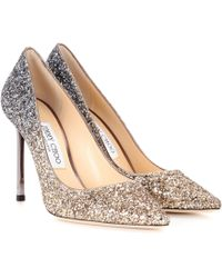 Jimmy Choo - Exclusive To Mytheresa – Romy 100 Glitter Pumps - Lyst