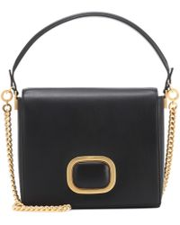 Roger Vivier - Madam Viv Leather Shoulder Bag - Lyst