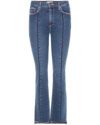 PAIGE - Jean taille haute Vintage Julia - Lyst