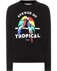 Être Cécile - Tropical Boyfriend Cotton Sweatshirt - Lyst