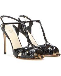 Francesco Russo - Patent Leather Sandals - Lyst