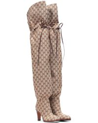 Gucci - Original GG Over-the-knee Boots - Lyst