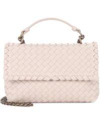 Bottega Veneta - Olimpia Small Intrecciato Leather Shoulder Bag - Lyst 54def33fa6242