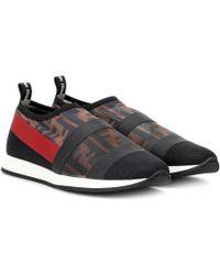 Fendi - Bedruckte Sneakers Colibri - Lyst