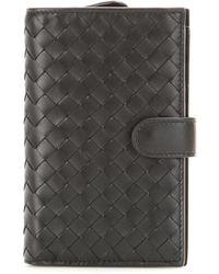 Bottega Veneta - Intrecciato Leather Wallet - Lyst