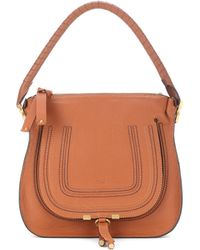 Chloé - Marcie Medium Hobo Leather Shoulder Bag - Lyst