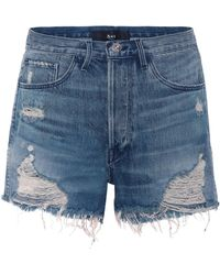 3x1 - W4 Carter Denim Shorts - Lyst