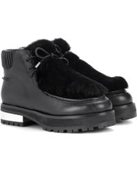 Opening Ceremony - Duke Leather Ankle Boots - Lyst