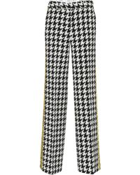 Off-White c/o Virgil Abloh - Side-stripe Check Trousers - Lyst