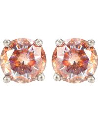 Bottega Veneta - Cubic Zirconia And Silver Earrings - Lyst