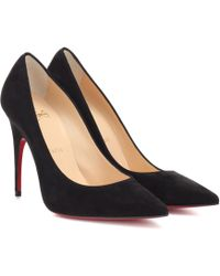 Christian Louboutin - Alminette 100 Suede Pumps - Lyst