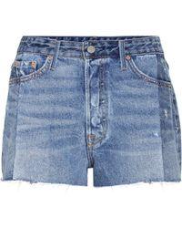 GRLFRND - Jeansshorts Cindy aus Baumwolle - Lyst