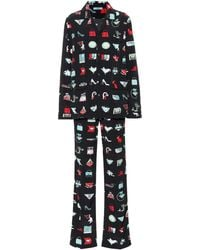 Prada - Printed Pyjama Set - Lyst