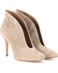 Gianvito Rossi - Exclusive To Mytheresa. Com – Vamp 85 Suede Ankle Boots - Lyst