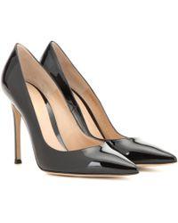 ca499483e1ab Gianvito Rossi - Gianvito 105 Patent Leather Court Shoes - Lyst