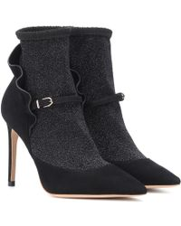 Sophia Webster - Stivaletti Lucia in suede - Lyst