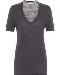 Étoile Isabel Marant - Kranger Linen T-shirt - Lyst