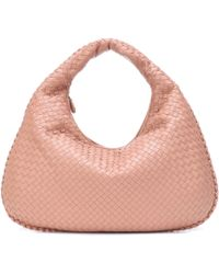 Bottega Veneta - Veneta Large Leather Shoulder Bag - Lyst