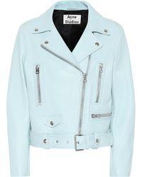 Acne Studios - Mock Leather Jacket - Lyst