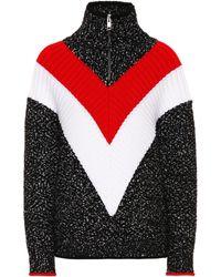 Givenchy - Jersey de lana y mezcla de algodón - Lyst