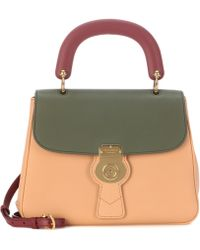 Burberry - The Trench Leather Handbag - Lyst
