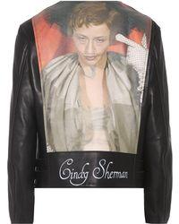 Undercover - Cindy Sherman Leather Biker Jacket - Lyst