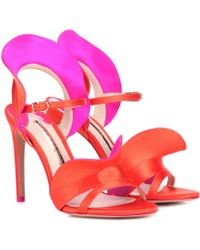 Sophia Webster - Lucia Satin Sandals - Lyst