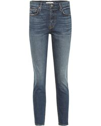 GRLFRND - Mid-Rise Skinny Jeans Yasmin - Lyst