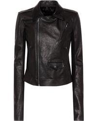 Rick Owens - Leather Jacket - Lyst